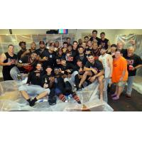 Long Island Ducks celebrate second half title