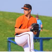 Frederick Keys pitcher Cameron Bishop