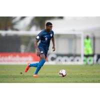 Bryang Kayo with the U.S. U17 Men's National team