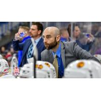 Saskatoon Blades Head Coach Mitch Love