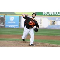 Long Island Ducks pitcher Brandon Beachy