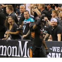 Arizona Rattlers defensive back/linebacker Davontae Merriweather