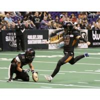 Arizona Rattlers kicker Jimmy Camacho
