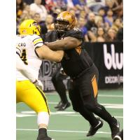 Arizona Rattlers defensive lineman Lance McDowdell