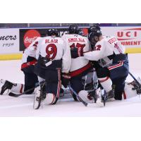 Amarillo Bulls huddle