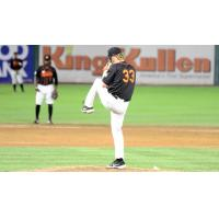 Long Island Ducks pitcher Brendan Feldmann