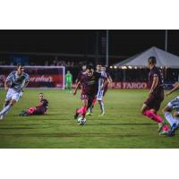Sacramento Republic FC forward Cameron Iwasa against LA Galaxy II