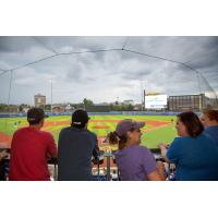 Fans enjoy a High Point Rockers game