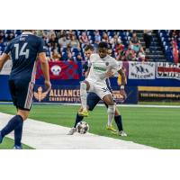 Marcus Epps of Memphis 901 FC vs. Indy Eleven