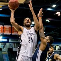 Marvell Waithe with the Moncton Magic