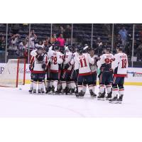 Amarillo Bulls celebrate a win