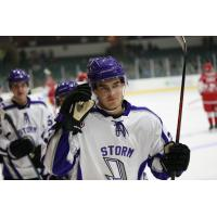 Felix Carenfelt of the  Tri-City Storm