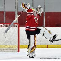 Johnstown Tomahawks goaltender David Tomeo