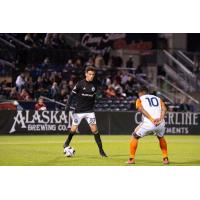 Forward Alfonso Ocampo-Chavez with Tacoma Defiance