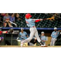 Clearwater Threshers with a big swing