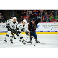 Forward Brad Morrison with the Ontario Reign