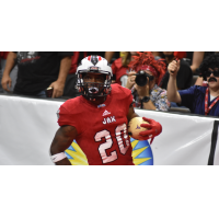 Jacksonville Sharks defensive back Tony Goodman