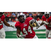 Jacksonville Sharks linebacker and fullback Zack Brown