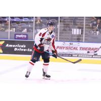 Amarillo Bulls defenseman Nick Dineen