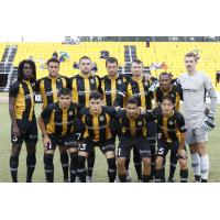 Charleston Battery lineup for the season finale