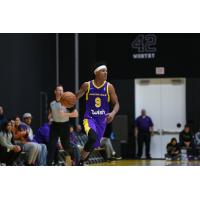 Jemerrio Jones with the South Bay Lakers