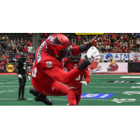 Jacksonville Sharks defensive lineman Aaron Bellazin