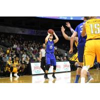 Forward Kyle Arseneault with the KW Titans