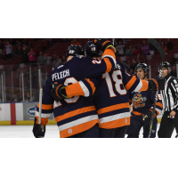 Michael Pelech and Nathan Perkovich of the Greenville Swamp Rabbits