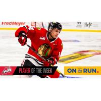 Portland Winterhawks forward Jake Gricius