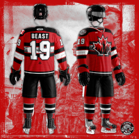 Brampton Beast Kotak Law Military Appreciation Day jersey
