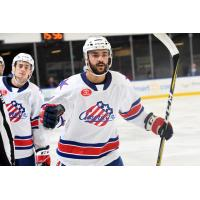 Rochester Americans forward Pascal Aquin