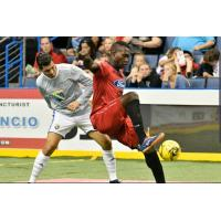 Ontario Fury battle the San Diego Sockers in preseason action