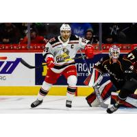 Grand Rapids Griffins right wing Matthew Ford against the Cleveland Monsters