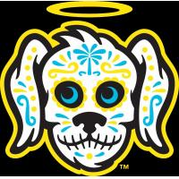 Charleston RiverDogs' Perros Santos logo