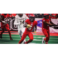 Jacksonville Sharks defensive back Dallas Jackson