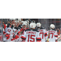 Smiles all around for the Binghamton Devils