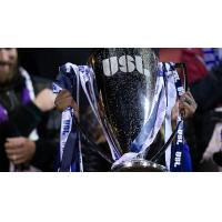 The USL Championship trophy