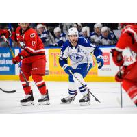 Syracuse Crunch forward Cory Conacher vs. the Charlotte Checkers