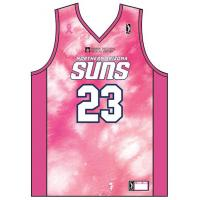 Northern Arizona SunsBreast Cancer Awareness Night jersey front