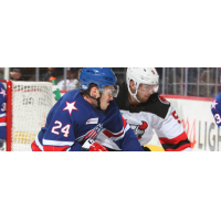 Binghamton Devils battle the Rochester Americans