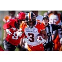 BC Lions running back John White