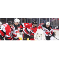 Binghamton Devils battle the Belleville Senators