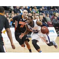 Halifax Hurricanes shooting guard Antoine Mason vs. the Moncton Miracle