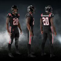 New York Guardians black uniform
