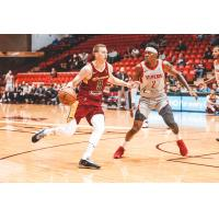 Dylan Windler of the Canton Charge brings the ball up against the Rio Grande Valley Vipers