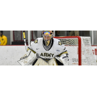 Goaltender Parker Gahagen with the United States Military Academy