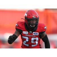 Calgary Stampeders defensive back Jamar Wall