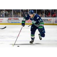 Forward Alex Morozoff with the Seattle Thunderbirds