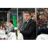 Texas Stars head coach Derek Laxdal