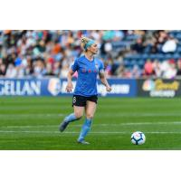 Chicago Red Stars midfielder Julie Ertz